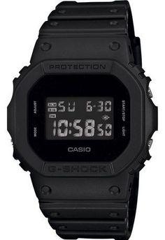 Montre Montre Homme G-Shock DW-5600BB-1ER - Casio - Vue 0