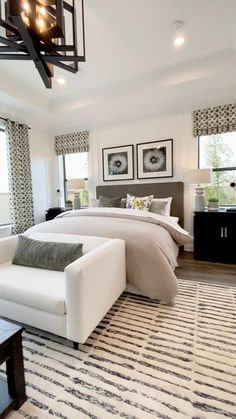 Home Room Design, Bedroom Makeover, Bedroom Interior, Luxurious Bedrooms, Modern Bedroom, Remodel Bedroom, Bedroom