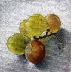 Small oil sketch, 10 x 10 cm. 2015 Patricia Glee Smith