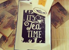 It's tea time por Matices Té en Hebras