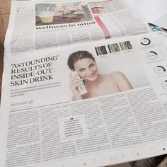 'ASTOUNDING' RESULTS OF INSIDE-OUT #SKINCARE DRINK @thesundaytimes via  @raconteur http://raconteur.net/lifestyle/astounding-results-of-inside-out-skin-drink … #AntiAgeMe