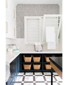 """731 Likes, 10 Comments - Alice Lane Home Collection (@alicelanehome) on Instagram: """"A luxe laundry room? We're in!  See more images of this space here: bit.ly/CoastalContemporary. :…"""""""