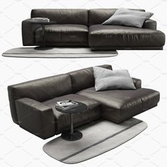 Paris-seoul sofa with chaise lounge: Dimensions: 2700 mm x 1500 mm x 740 mm; Flute coffe table: Dimensions: 500 mm x 500 mm; Grey rug: Dimensions: 900 mm x 2000 Coffe Table, Modern Sofa, Grey Rugs, Sofa Set, Seoul, 3 D, Couch, Paris, Interior Design