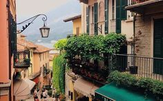 Roaming the streets of Bellagio, Italy this past summer. Come travel Italy with us in Italy Travel, Tuscany, Travelling, Past, Nude, Explore, Street, Places, Summer