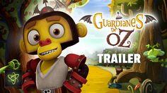 """Ozzy es un pequeño pero inteligente mono volador, hijo del legendario guerrero Goliat. Ambos son parte del ejército de monos voladores que sirve a Eveline; la malvada bruja del Oeste. A diferencia del resto de su especie, Ozzy no está convencido en servir ciegamente a Eveline, así que cuando la bruja pone en marcha sus planes para atacar el reino él decide ir en busca de los legendarios """"Guardianes de Oz"""" para que luchen contra ella."""
