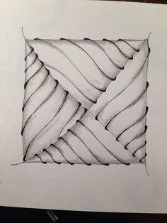 Zentangle - simplicity is beautiful
