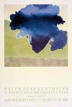 ART & ARTISTS: Helen Frankenthaler - abstract expressionist - part ...