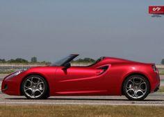 U Design: The New Alfa Romeo 4C Spider - Carscoops Das soll mein nächster werden