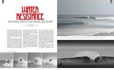 Water Resistance - a cura di Andrea Bianchi, con Alberto Costa, Dario Nuzzi, Alessandro Staffa. Foto Andrea Bianchi. pag. 38-39