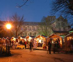 Winchester Cathedral's Christmas Market and Ice Rink