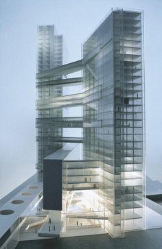 Modelo arquitectónico; Torres Gemelas. DMAA.