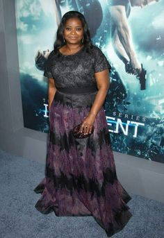 Octavia Spencer NYC Insurgent Premiere