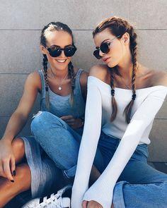 Image about girl in best friends by idek on We Heart It Best Friend Pictures, Bff Pictures, Friend Photos, Tumblr Bff, Ft Tumblr, Best Friend Goals, My Best Friend, Good Vibe, Story Instagram