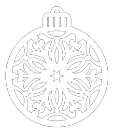 Christmas Balls, Winter Christmas, Christmas Ornaments, Christmas Projects, Holiday Crafts, Kirigami, Paper Decorations, Christmas Decorations, Christmas Ornament Template