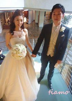 美人花嫁さまの素敵な3スタイル♡後編♡ | 大人可愛いブライダルヘアメイク 『tiamo』 の結婚カタログ