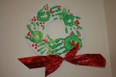 handprint wreath - Google Search