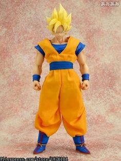 Toys & Hobbies Anime Dragon Ball 42cm Super Big Son Goku Action Figure Toys Doll Garage Kit Pvc Collection Figure Toys Model Decoration