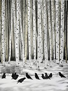 "I think I'm in *love* with this Image!! It's Perfectly Brilliant!! ""The Foragers"" by Elisabeth Sommerville"