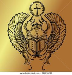 Discover recipes, home ideas, style inspiration and other ideas to try. Ankh Tattoo, Scarab Tattoo, Masonic Symbols, Egyptian Symbols, Egyptian Art, God Tattoos, Tattoos For Guys, Tattoo You, Ancient Egypt Art