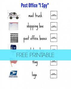 "Post Office ""I Spy"""