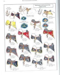 British; Light Cavalry, Horse Tack, 1793-1815