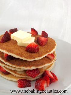 Gluten-Free Yeast Pancakes by www.thebakingbeauties.com