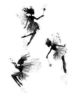 "Képtalálat a következőre: ""fairy tattoo"" Pixie Tattoo, Body Art Tattoos, Tatoos, Fairy Silhouette, Fairy Tattoo Designs, Fairy Crafts, Fairy Art, Future Tattoos, Faeries"