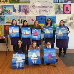 Despite the bitter cold weather, we had a lovely afternoon Sailing Down the Hudson River!!! #PaintbrushesAndParty #PaintSipParty #paintandsip #sipandpaint #Friends #Family #Fun #ChooseYourFavoriteColors #StudioLightingIsGreat #GetCreative #DiscoverYourInnerArtist