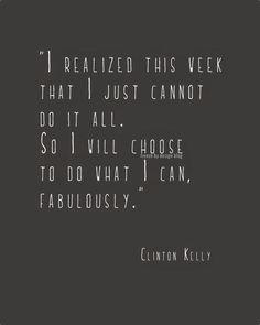 do things fabulously