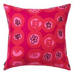 Marimekko Myllymäki Red Throw Pillow $41.00