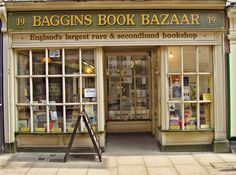 Baggins Book Bazaar, Rochester | 19 Magical Bookshops Every Book Lover Must Visit - I think I might go to the UK soon now...