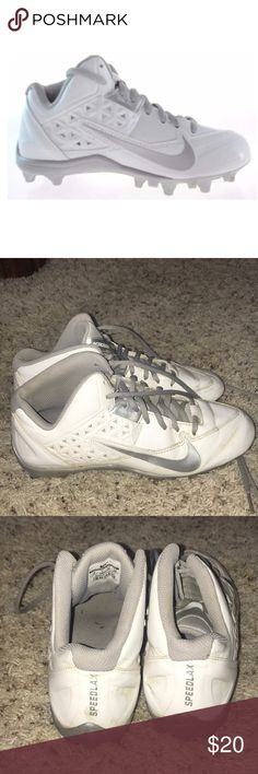 nike lacrosse shoes cleats worn for only a couple games/practices lots of life left! Nike Shoes Athletic Shoes