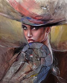 Paintings by Emilia Wilk - Ego - AlterEgo Painting People, Drawing People, Art Themes, Portraits, Beauty Art, Figurative Art, Painting & Drawing, Woman Painting, Female Art