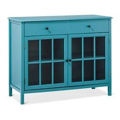 Windham 2 Door Accent Buffet Cabinet With Shelves Teal Threshold Target