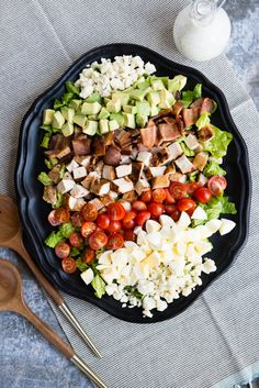 What's For Dinner: Grilled Chicken Cobb Salad | Design Mom | Bloglovin'