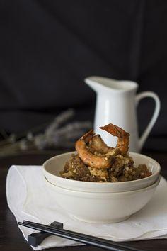 Para quién le guste la comida japonesa y las recetas de arroz: Arroz Yakimesi con Thermomix #fb