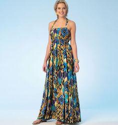 K4100, Misses' Romper and Dress
