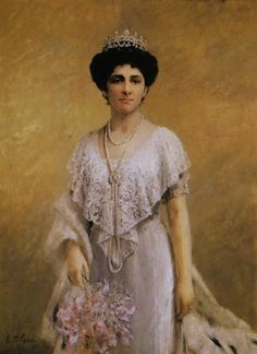Elena of Montenegro born Princess Jelena Petrović-Njegoš of Montenegro 8 January 1873 – 28 November 1952 was the daughter of King Nikola I Petrović-Njegoš of Montenegro and his wife, Milena Vukotić. As wife of Victor Emmanuel III of Italy, she was Queen o House Of Savoy, Book Photography, Roman Empire, Montenegro, French Antiques, Royalty, Italy, Gallery, Painting