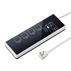 「あ、こたつ消したかしら?」なんてときでも安心です。サンワサプライは、無線LAN機能を搭載した電源タップ「Navi-Ene Tap (ナビエ...