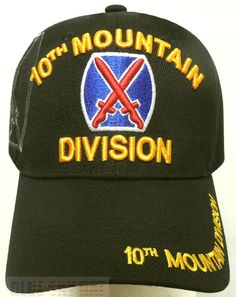 Army 3rd Infantry Division Marne Division Mess Best Embroidered Cap Hat U.S