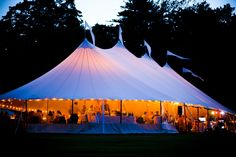 Malloy Events at Private Residence in Rye, New Hampshire. Sperry Tent reception