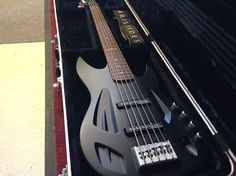 Aristides 050. Composite bass made with ceramic core. Cool and rings. Super easy to play!