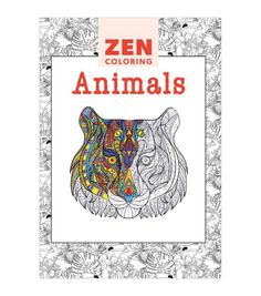 Zen Coloring Animals | Adult Coloring Book