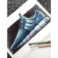 Friday sneaker sketch.