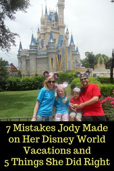 We have taken a vacation to Walt Disney World 3 times since 2013. Each trip was magical in its own way. We have learned over the years how to make the most of our Disney vacation. Here are 7 mistakes and 5 things we did right on our Disney World vacations. 7 Mistakes Not taking …
