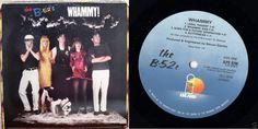 B-52S Whammy! 1983 UK LP 33 VINYL ALBUM POP NEW WAVE PUNK ILPS9759 b 52 FREE S&H