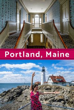 Portland, Maine is a perfect New England trip a short drive from Boston. Here are #travel and visiting tips on food, what to do, and what to see. #PortlandME #Maine #NewEngland