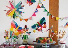 Geburtstagsdeko aus Papier | DIY LOVE