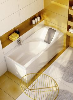 You bath - The most comfortable bath in the world designed by Achim Storz and physicians! http://www.ravak.com/en/bathtub-you