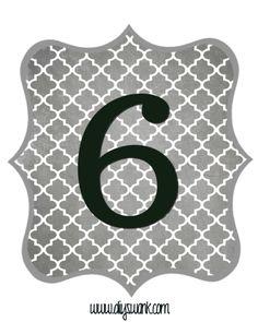 Gray_Black Number-6